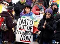 Protesters in Bonn