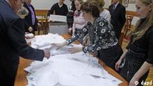 Palamentswahlen in Russland