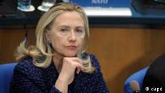 Porträt von US-Außenministerin Hillary Clinton (Foto: dapd)