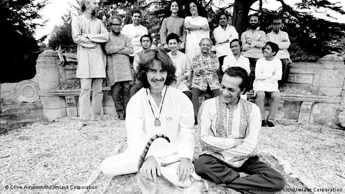 George Harrison und Ravi Shankar Projekt Music Festival from India 1974