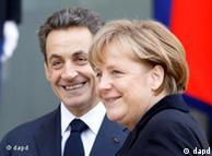 Sarkozy e Merkel: propostas da dupla não diferem muito das atuais regras europeias