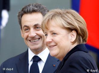 Merkel i Sarkozy -wspólna linia