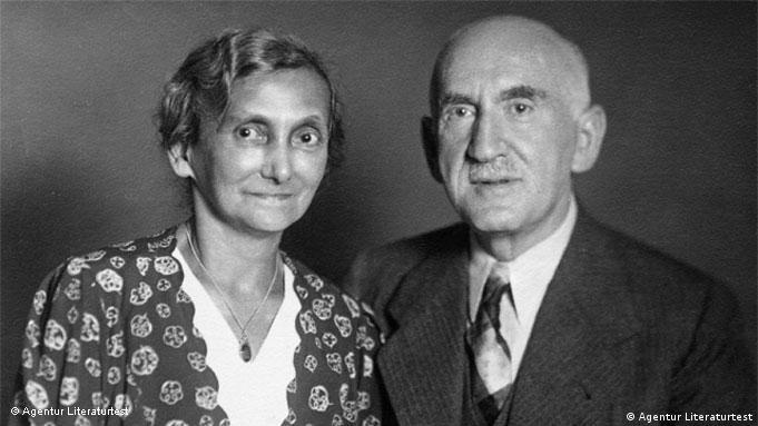 Walter Wächter's parents, Minna and Gustav