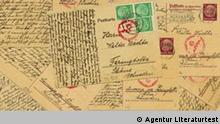 A stack of the Wächter family's postcards