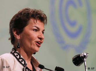 Figueres, chefe do clima da ONU, mantém o otimismo