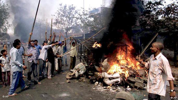 Indien Gujarat Ausschreitungen 2002