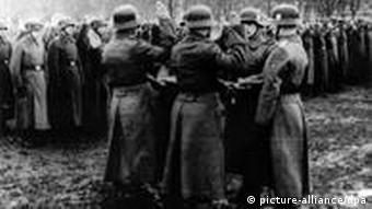 Принятие присяги в дивизии СС Галичина