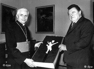 The Stasi started watching Ratzinger long before he became pope