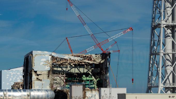 Daiichi reactor building under construction