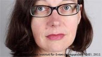Porträt von Dr. Imme Scholz (Foto: Deutsches Institut für Entwicklungspolitik)