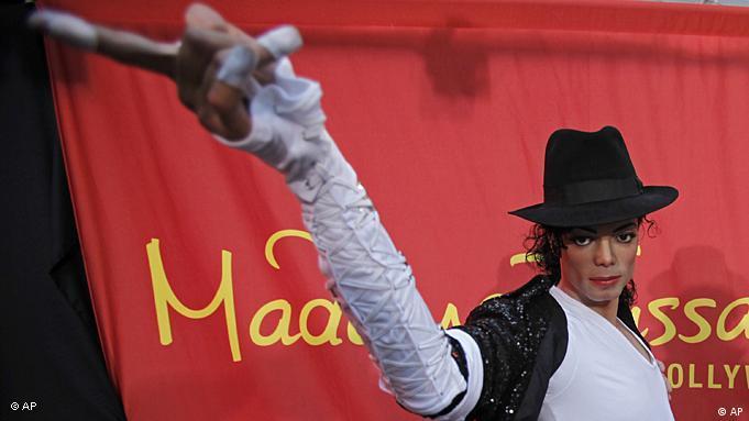 Flash-Galerie 250 Jahre Marie Tussaud Wachsfigur Michael Jackson