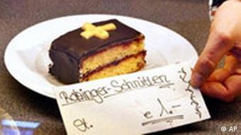 Ratzinger-Schnitten 1€