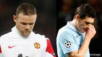 Wayne Rooney wa Manchester United na Gareth Barry wa Manchester City