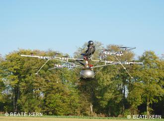 Первый пилотируемый полет E-Volo