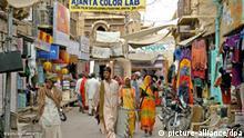 Alltag in Indien Straßenszene
