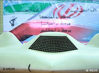 Iran gestürzte Drohne