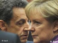 مرکل و سارکوزی، رهبران آلمان و فرانسه در تلاشی مشترک برای غلبه بر بحران یورو در اروپا