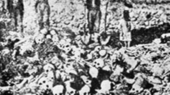 Armenian mass grave