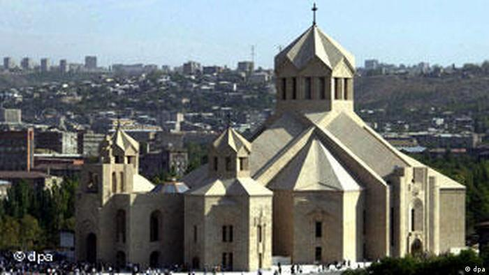 St. George Kathedrale in Eriwan in Armenien (dpa)