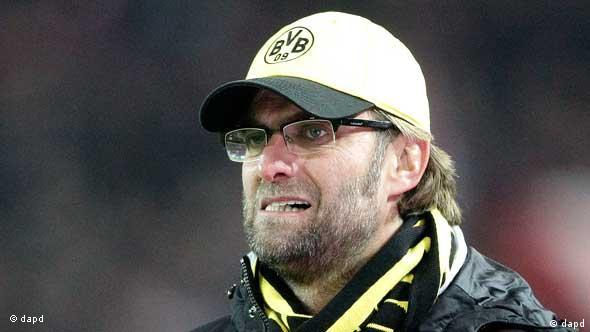 Dortmund head coach Juergen Klopp reacts during the German first division Bundesliga soccer match between BvB Borussia Dortmund and 1.FC Kaiserslautern Sunday, Dec. 11, 2011 in Dortmund, Germany. (Foto:Frank Augstein/AP/dapd) - NO MOBILE USE UNTIL 2 HOURS AFTER THE MATCH, WEBSITE USERS ARE OBLIGED TO COMPLY WITH DFL-RESTRICTIONS, SEE INSTRUCTIONS FOR DETAILS -