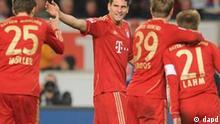 1. Bundesliga VfB Stuttgart gegen FC Bayern München 11.12.2011