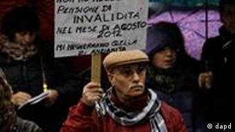 Italien Finanzkrise Streik
