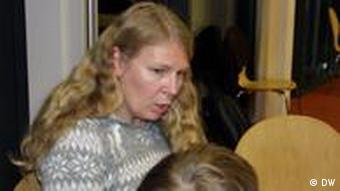 Kinderphilosophin Kristina Calvert