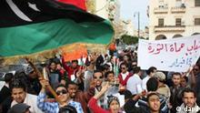 Proteste in Libyen