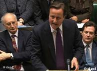دیوید کامرون در پارلمان بریتانیا (عکس از آرشیو)