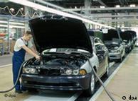 На заводе BMW в Калининграде