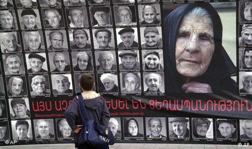 Gedenken an Völkermord in Armenien