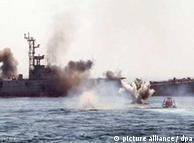 مانور دریایی ایران در خلیج فارس از سوم دیماه شروع شده است