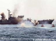 رزمایش دریایی در ایران