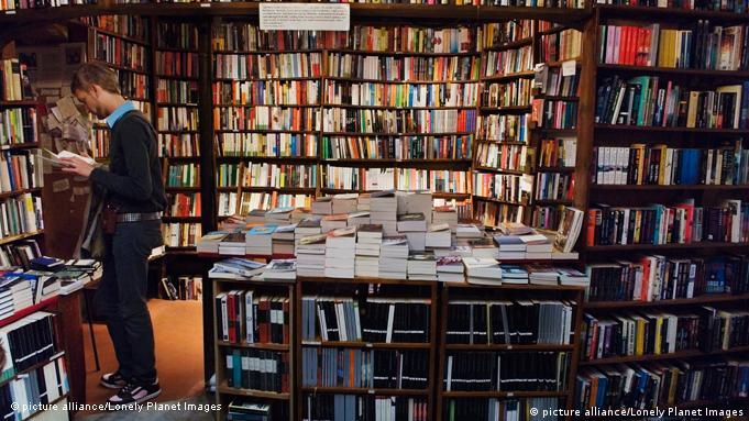 Buchhandlung Shakespeare and Company in Paris Frankreich
