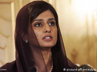 حنا ربانی کهر، وزیر خارجه پاکستان
