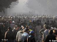 تجمع معترضان در نزدیکی میدان تحریر قاهره