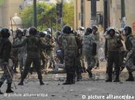 اوجگیری زد و خوردهای خیابانی در قاهره