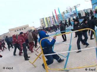 Участники волнений в Жанаозене