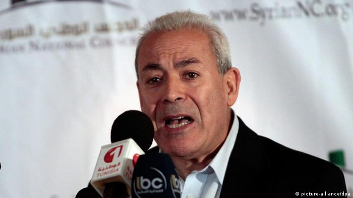 'Opposition has failed the Syrian people,' outgoing opposition leader Burhan Ghalioun says