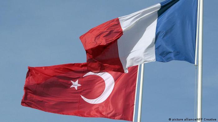 Francuska i turska zastava