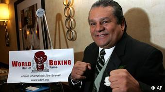 USA Panama Boxen Roberto Duran Hall of Fame in Los Angeles (AP)
