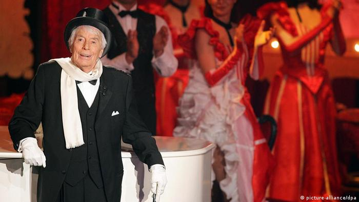 Entertainer und Schauspieler Johannes Jopie Heesters