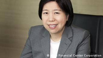 Cathy Yang, Vizepräsidentin der Betreibergesellschaft. (Foto:Taipei Financial Center Corporation)