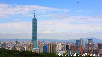 Wolkenkratzer Taipei 101 in Taiwan (picture alliance/Photoshot)