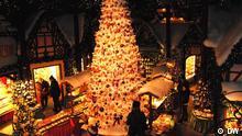 Käthe Wohlfahrts Weihnachtsdorf in Rothenburg