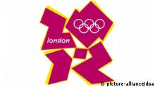 Logo Olympische Sommerspiele in London 2012