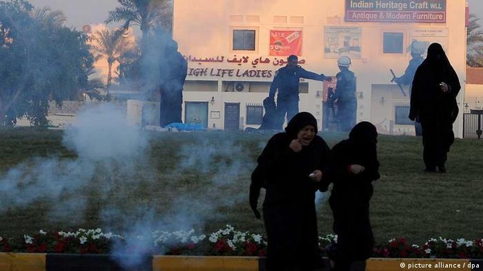 السلطات البحرينية واجهت المحتجين بالقوة