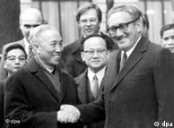 Acuerdo de paz de París, que valió a Kissinger y su homólogo vietnamita, el premio Nobel de la Paz en 1973.