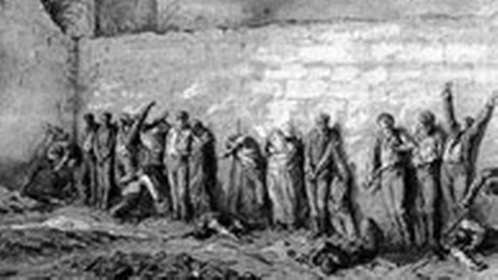 Pariser Kommune Massaker am Père-Lachaise