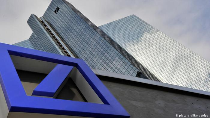 Deutsche Bank headquarters in Frankfurt Photo: (c) dpa - Bildfunk